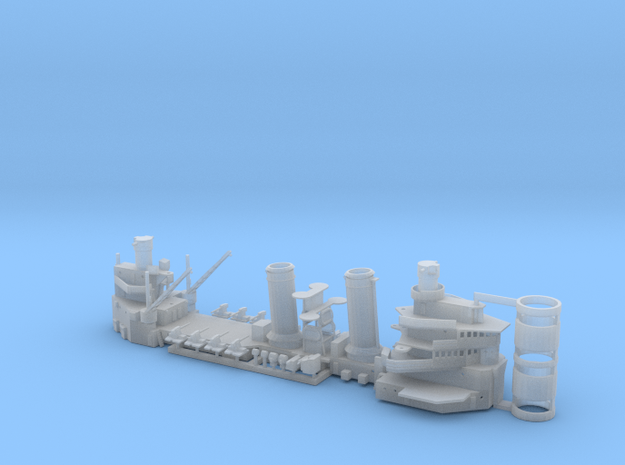 1/350 Brooklyn superstructure in Smooth Fine Detail Plastic