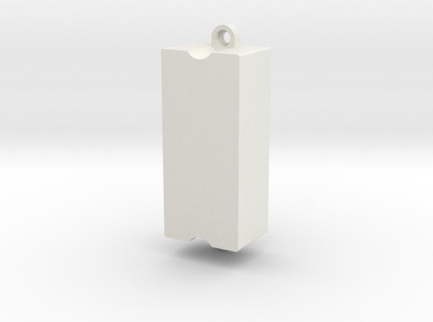 Athearn Dual Sugarcube Retrofit in White Natural Versatile Plastic
