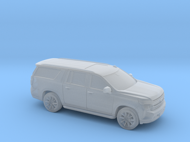 1/72 2020 Chevrolet Suburban Shell in Smooth Fine Detail Plastic
