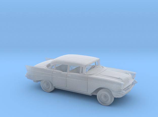 1/160 1957 Chevrolet BelAir Sedan Kit in Smooth Fine Detail Plastic