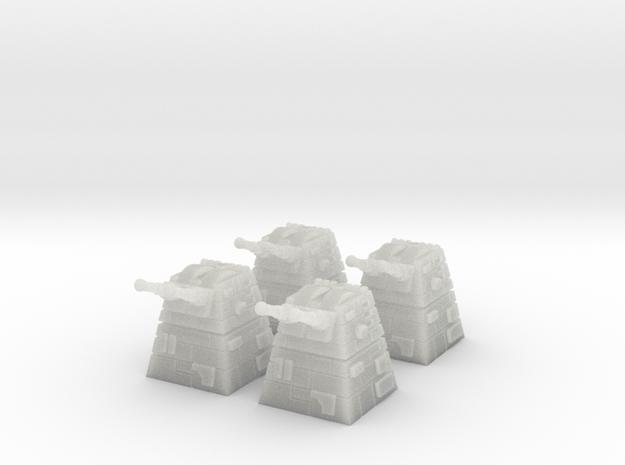 4x Turbolaser Turret 3d printed