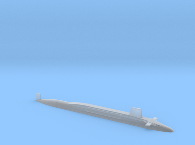 HMS Vanguard 1:1250 in Smooth Fine Detail Plastic