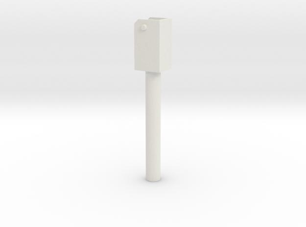Hefcilinder in White Natural Versatile Plastic