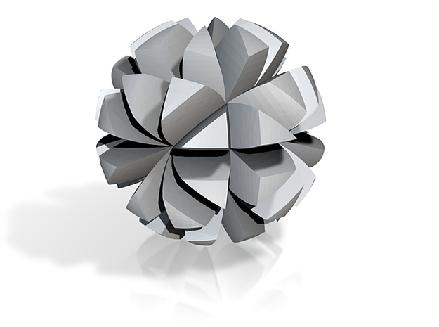 6 Floret Ball 3d printed
