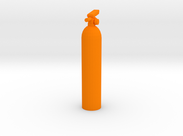 Fire Extinguisher 1/10th Scale 3d printed