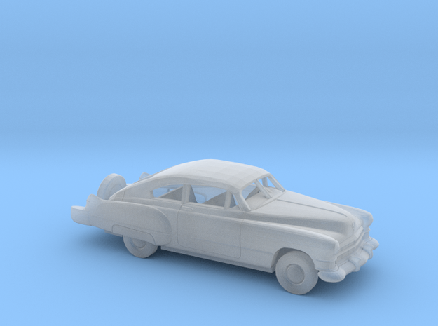 1/87 1949 Cadillac Series 62 Fastback w. Cont.Kit in Smooth Fine Detail Plastic