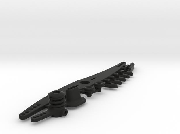 NMM boat parts set in Black Natural Versatile Plastic