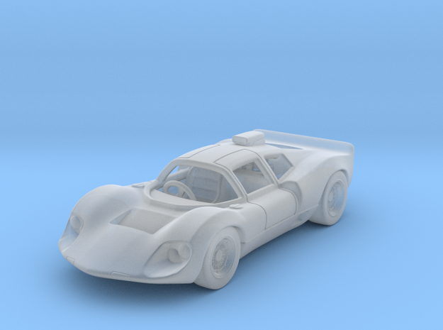 Chaparral 2D 1966 1:87 HO in Smooth Fine Detail Plastic
