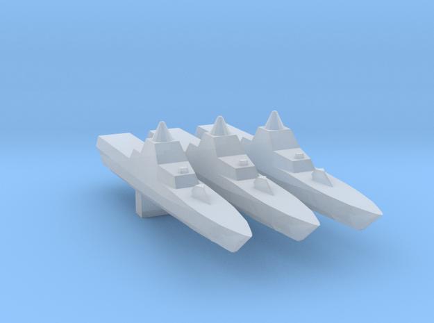 3pk Swedish Visby class corvette 1:3000