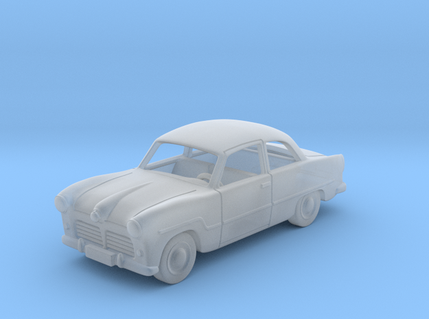 Ford Taunus 12M  1:87 HO in Smooth Fine Detail Plastic