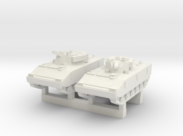 1/200 South Korean K-21 IFV in White Natural Versatile Plastic