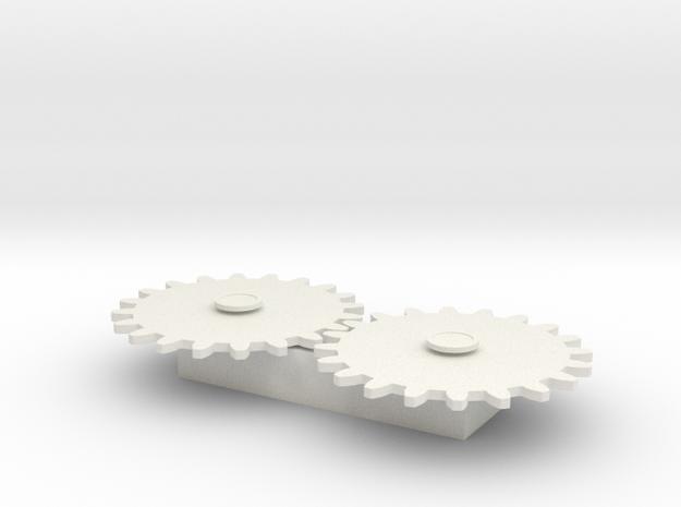 Gears Test 3d printed