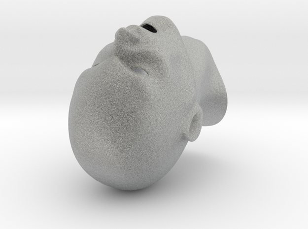 Screaming head, thin walls 3d printed