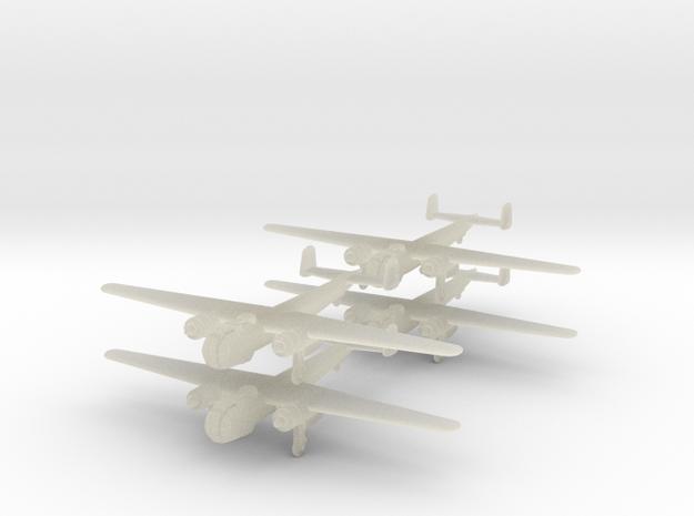 Do217k2-350-wheels-x4 in Transparent Acrylic