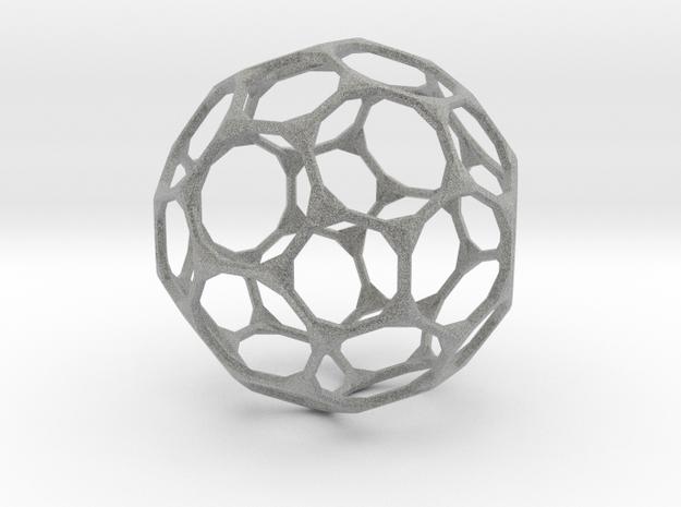 Bucky ball 3d printed