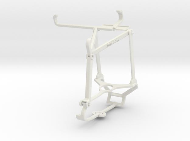 Controller mount for Steam & Nokia C01 Plus - Top in White Natural Versatile Plastic