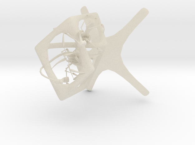 Larger Impossible Phone Spiders 3d printed