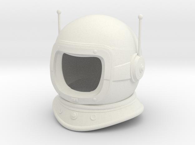 Lost in Space - Helmet - 1.6 in White Natural Versatile Plastic