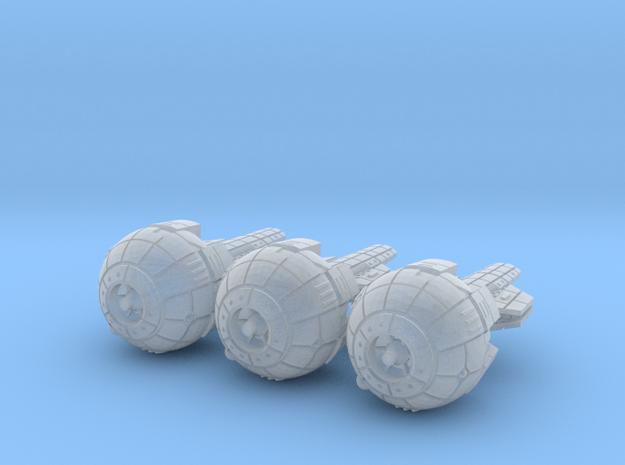 Terran (TFN) Cruiser (alt) Datagroup in Smooth Fine Detail Plastic