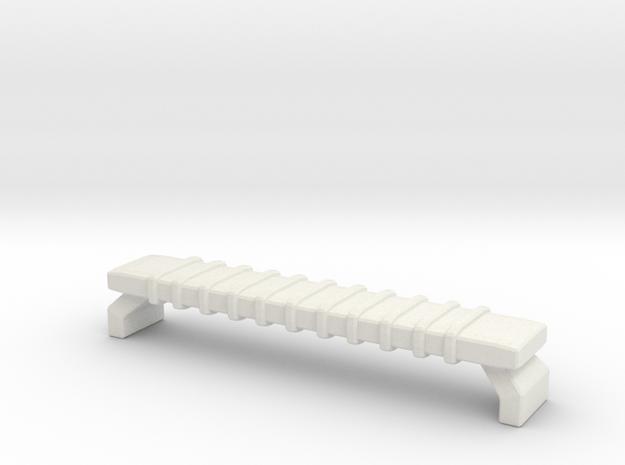 1/87 Ferrara LED Light Bar in White Natural Versatile Plastic