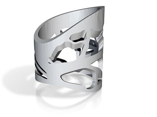big leaf ring size n 3d printed