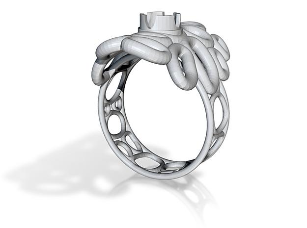 bone ring 1 size t 3d printed