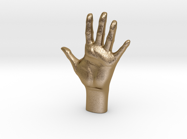 Human Hand, Hollow 3d printed