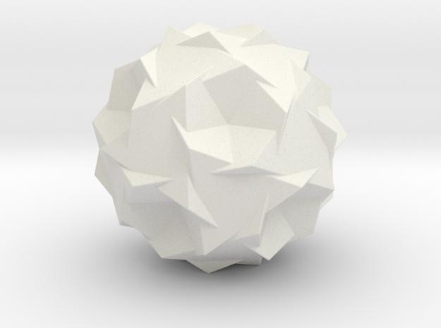 FIVE TRUNK TETRAHEDRON COMP in White Natural Versatile Plastic