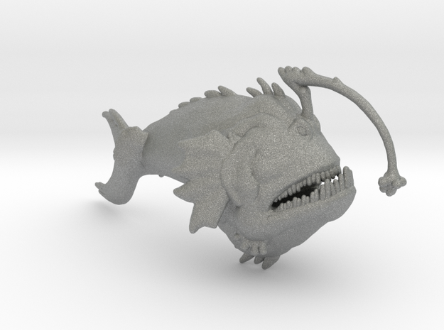 Monstrous Anglerfish miniature model fantasy games