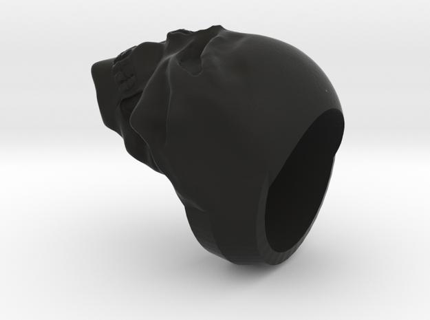 REVAMPED SKULL RING 3d printed