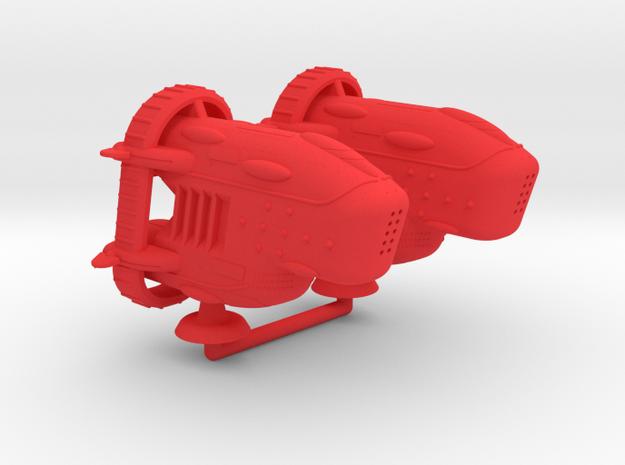 Octavius Type III Battler - 1:20000 in Red Processed Versatile Plastic