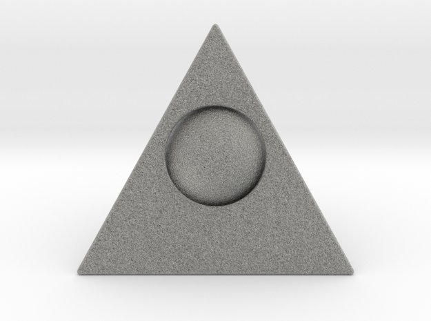 Ball in Pyramid 3d printed