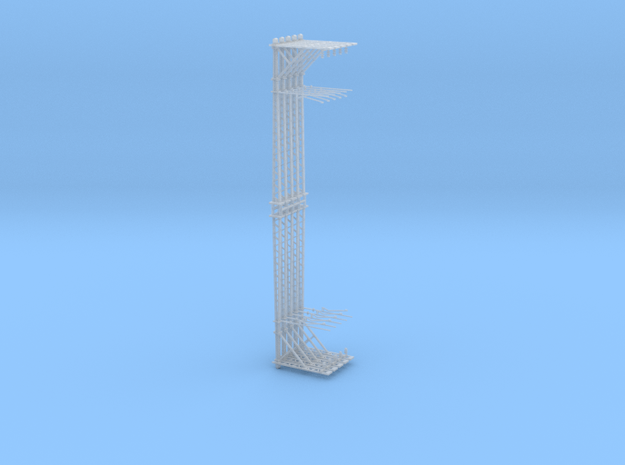 VR Stanchion 36mm 10 Pack 1:160 Scale in Smooth Fine Detail Plastic