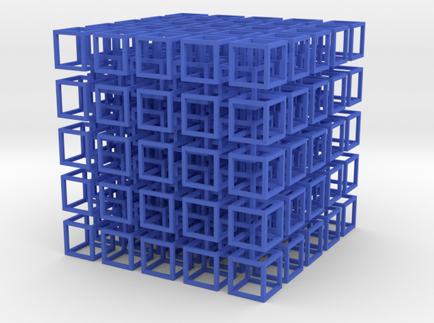 Cube Network 3d printed