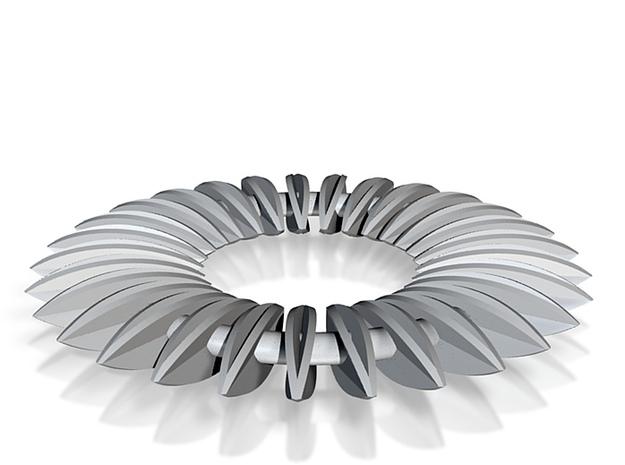 Calatrava Jewellery forms 139 60mm dia pendant 3d printed