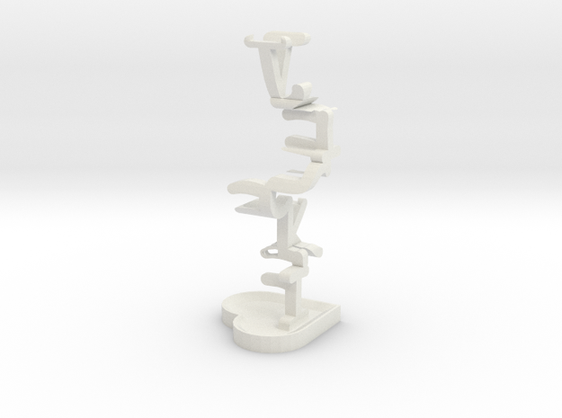 Infinitely personal jewelry cache 3d printed