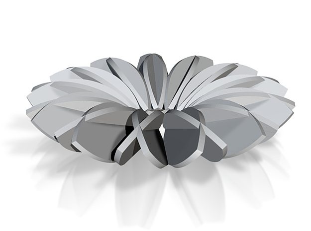 Calatrava Jewellery forms 143 80mm dia pendant 3d printed