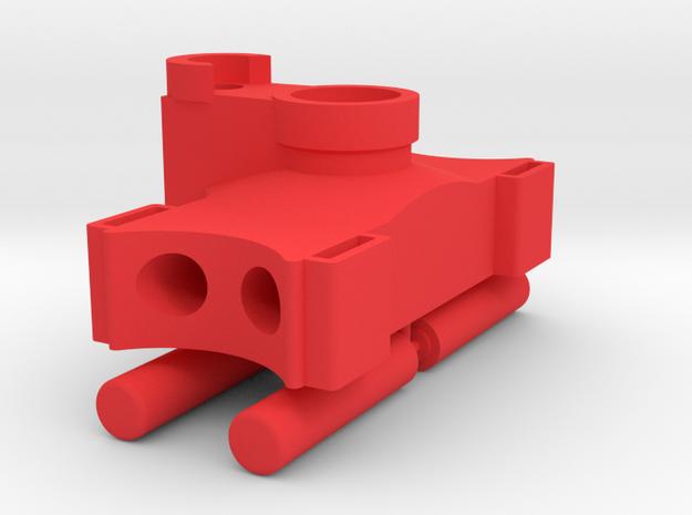 RC Kransockel ohne Abstützung in 1:14 in Red Processed Versatile Plastic