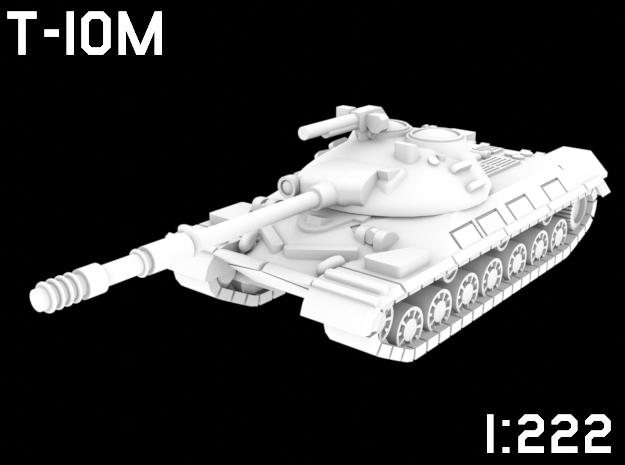 1:222 Scale T-10M in White Natural Versatile Plastic