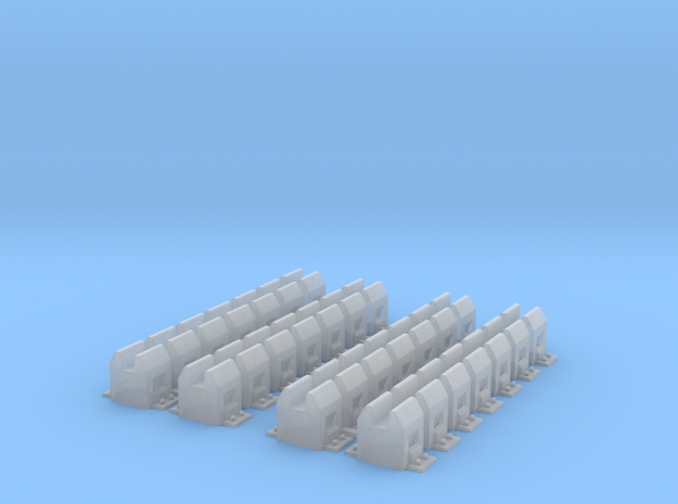 Maurienne - Support pour 3ème rail in Smooth Fine Detail Plastic