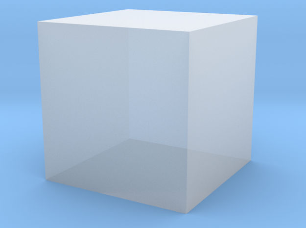 cube test 3d printed