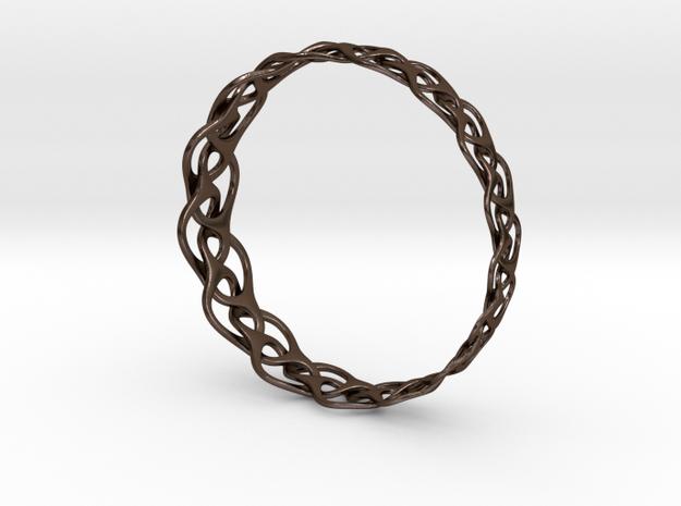 Bracelet I large 3d printed