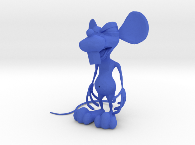 Dirty Rat - Standing (small2-NoWiskers) 3d printed