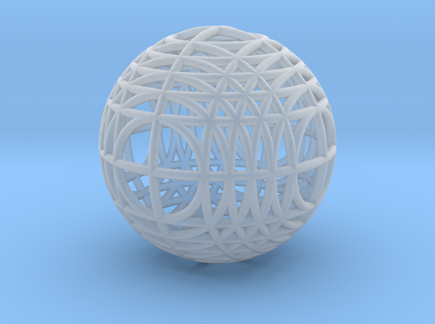 MegaWireSphere 3d printed