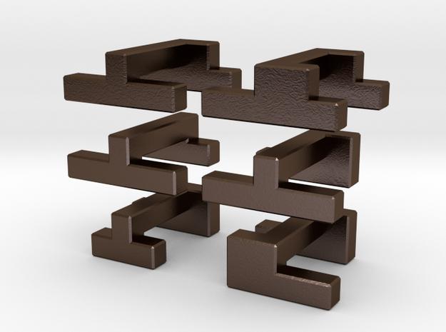 Visible Cube 3d printed