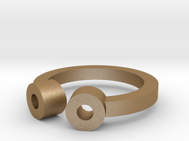Ring - 2Tube 3d printed