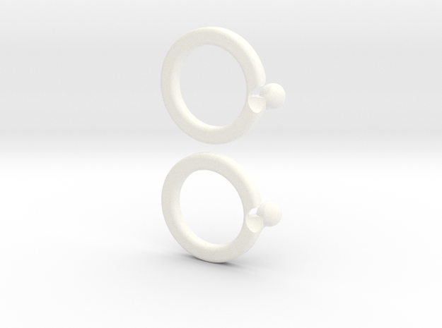 paired-puzzle-ring 3d printed