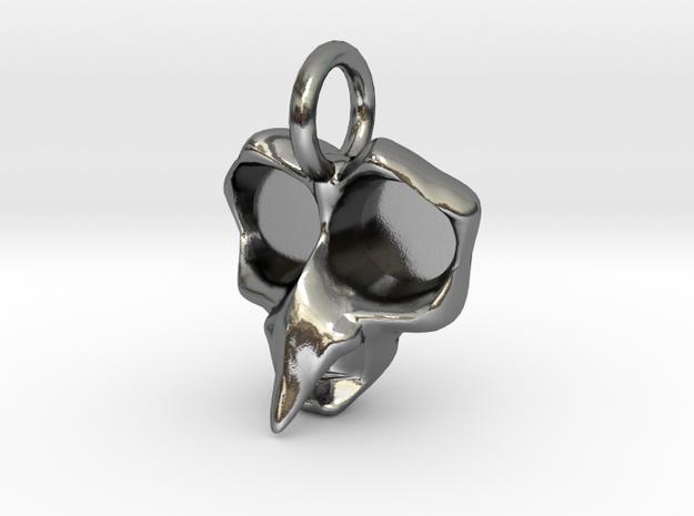 Crone Pendant -Small v1a 3d printed