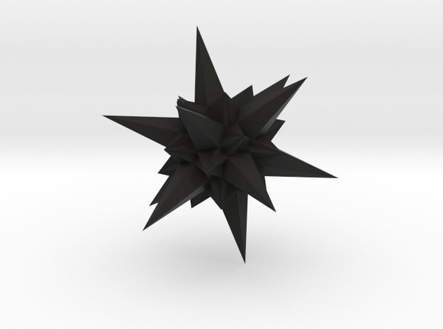A stellation of icosahedron 3d printed