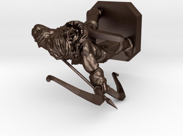 Elven archer 3d printed